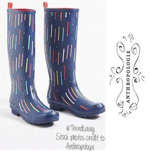 NWT 52 Conversations Anthro Colloquial Rain Boots